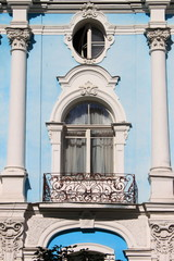 Renaissance balcony in Saint Petersburg, Russia