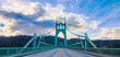 St. John's Bridge in Portland Oregon, USA - 81263617