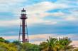 Leinwandbild Motiv Lighthouse on Sanibel Island