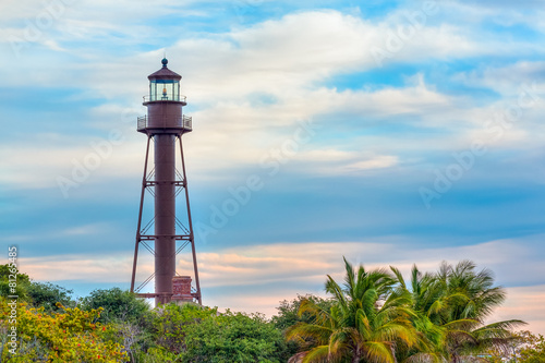 Plexiglas Vuurtoren / Mill Lighthouse on Sanibel Island
