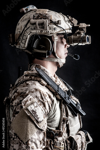 Poster soldier man Military Hat fashion