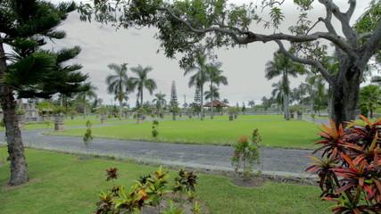 Gardens water temple in Bali