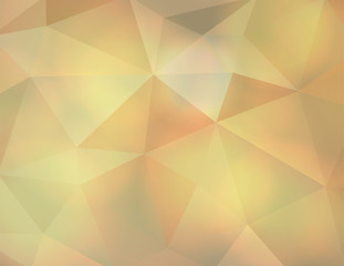 Abstract Earth Tone Triangle Background Illustration