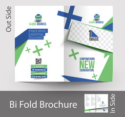 Corporate Business Bi-Fold Brochure Design