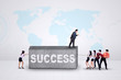 Entrepreneurs and business hurdle