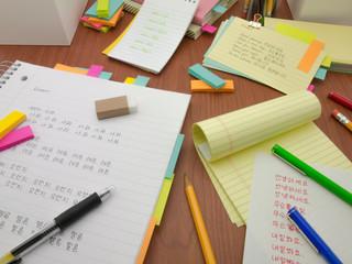 Lerning New Language; Korean