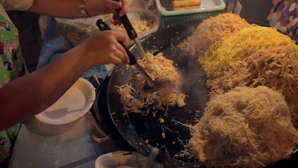 Khao San road cooking