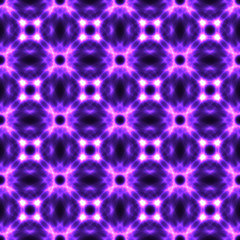 Violet seamless background made from flowers