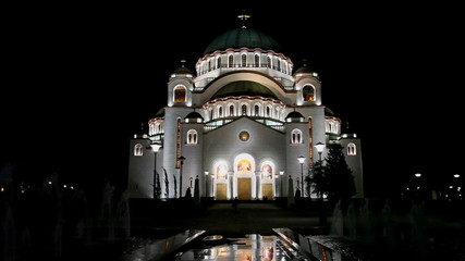 Orthodox Cathedral of Saint Sava in Belgrade