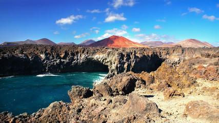 Los Hervideros, Cave at Los Hervideros, Lanzarote, Canary Island