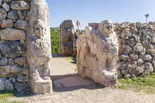 """Постер, картина, фотообои """"Hattusa, Turkey. Sphynx gate"""""""