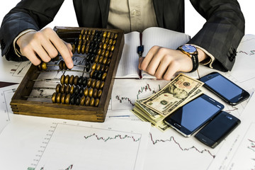 Exchange Rates and Forex Charts make money wooden abacus