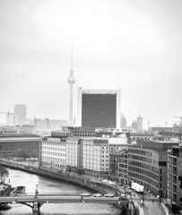 Black and white Berlin