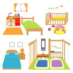 寝室 和室 子供部屋 赤ちゃん部屋