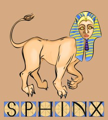 Sphinx with title