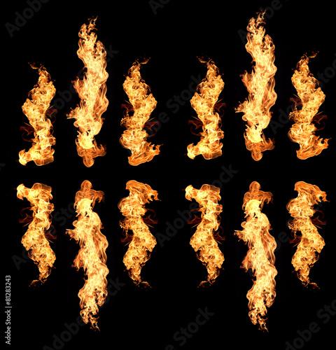 In de dag Vuur / Vlam flame