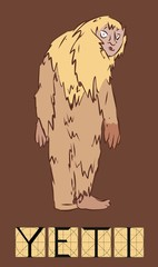 Yeti with title