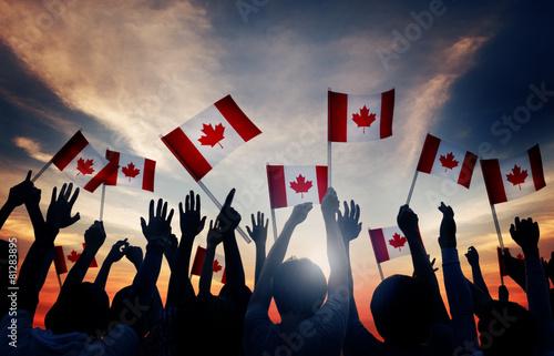 Papiers peints Canada Canada Canadian Diverse Unity Togetherness Concept