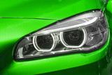 Fototapety Close up of modern Car Head light