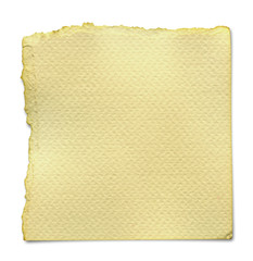 Torn Paper.Isolated on white background.(Clipping path)