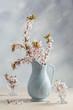 Antique Jug With Blossom
