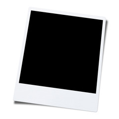 blank photo frame background