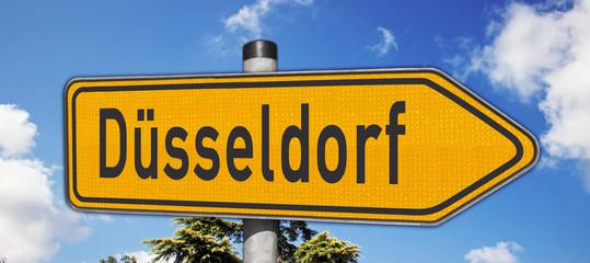 Wegweiser Düsseldorf
