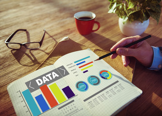 Data Analytics Chart Performance Statistics Information Concept