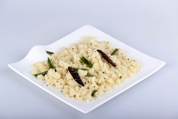 Upma or Uppuma is a common South Indian breakfast