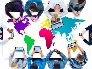 World Global Cartography Globalization Earth International