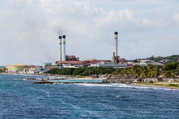 Fuel Plant on Coast of Curacao