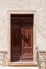 Tür Eingang in Italien