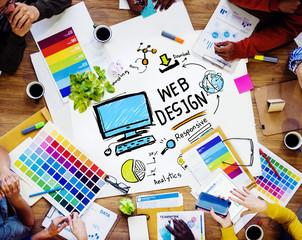 Content Creativity Digital Graphic Layout Webdesign Concept