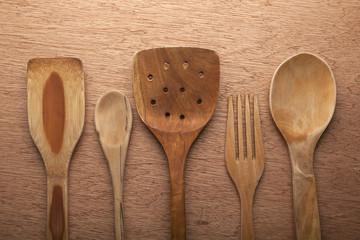 Colección de utencilios de cocina