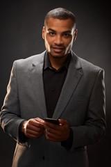Afro-american businessman