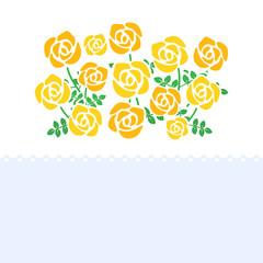 バラ メッセージカード rose cards