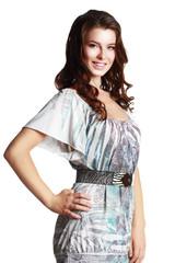 female fashion model