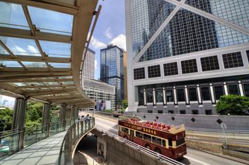 Tour Bus in Hong Kong