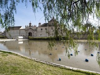 Monastery of the Cartuja, ex Ceramic tile factory Seville Spain,