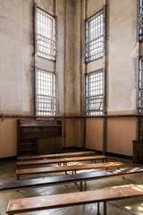 Inside of Alcatraz, San Francisco, California - USA