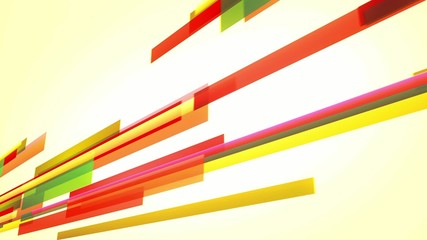animation with colourful lines moving across the screen, loop