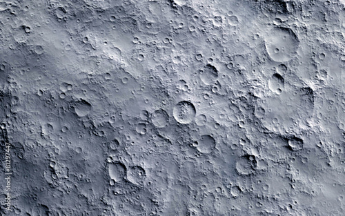 Leinwandbild Motiv Moon surface