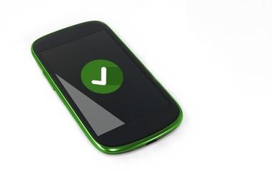 Smartphone - Bestätigung