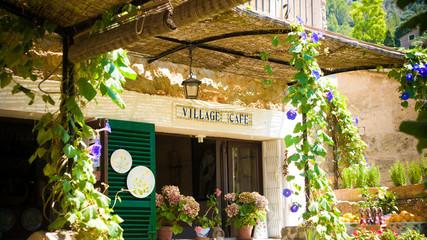 village cafe in Deya