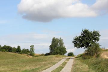 Landweg in Mecklenburg