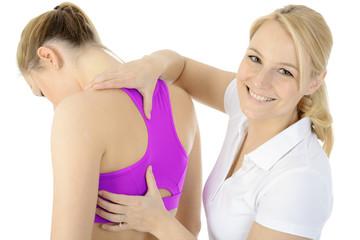 Physiotherapie für Rücken und Nacken