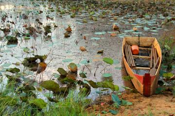 Рыбацкая лодка. Вьетнам.