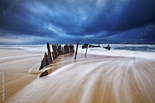 Fotobehang Australië SS Dicky wreck