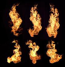"Постер, картина, фотообои ""flame"""