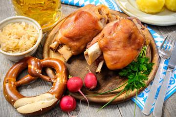 Bavarian Schweinshaxe
